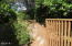 515 NW Terrace St, Waldport, OR 97394 - Gate to Side Yard