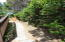 515 NW Terrace St, Waldport, OR 97394 - Path to Side Yard