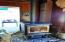 4798 NE I Ave, Neotsu, OR 97364 - Cozy certified wood stove