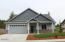 5792 NE Voyage Ave, Lincoln City, OR 97367 - Front View with Fiberglass Columns