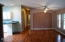 536 NE Alder St, Yachats, OR 97498 - Living room to dining area