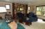 425 SW Green Dr, Waldport, OR 97394 - Living Room With / Pellet Stove!