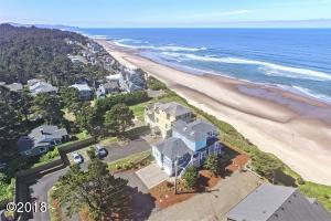 874 SW 8th St, Lincoln City, OR 97367 - Side Aerial Photo