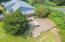 11710 NE Beverly Dr, Newport, OR 97365 - Deck with hot tub