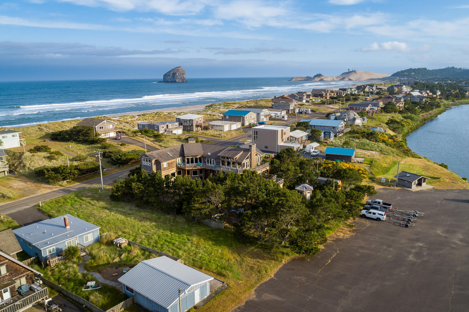 TL 4500 Sunset Drive, Pacific City, OR 97135 - Aerial