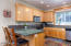 6750 Nestucca Ridge Rd, Pacific City, OR 97135 - Kitchen with eat in bar