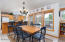5951 Shorepine Dr., Pacific City, OR 97135 - Dining space
