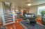 47 SW Hurbert St., Newport, OR 97365 - Living room to Kitchen