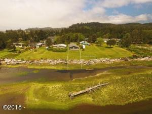 1346 SW 69th Street, Lincoln City, OR 97367 - House & Lot View Aerial