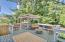 829 SE Fir St., Toledo, OR 97391 - Deck with Hot Tub