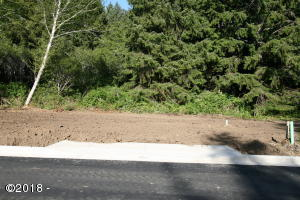 LOT #101 NE 61st Place, Lincoln City, OR 97367 - Front of Lot