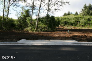 LOT #97 NE 61st Place, Lincoln City, OR 97367 - Front of Lot