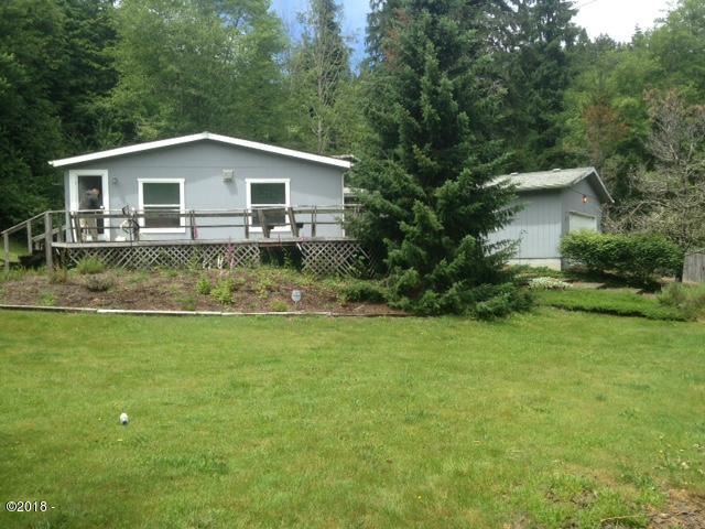 1758 N. Bear Creek Rd., Otis, OR 97368 - Front