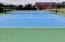 1902 NW Canoe St, Waldport, OR 97394 - Bayshore Tennis Court Photo