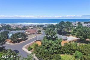 LOT 24 Lincoln Shore Star Resort, Lincoln City, OR 97367 - Aerial From Lot Street
