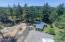 5856 NW Fox Creek Way, Seal Rock, OR 97376 - Aerial view