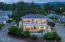 1859 NW 51st St, Lincoln City, OR 97367 - Aerial Front Exterior