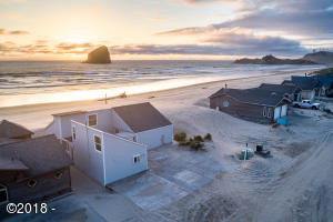 34440 Ocean Drive, Pacific City, OR 97135 - Aerial Exterior from Street