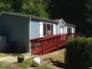 689 N Overlook Loop, Otis, OR 97368 - Front of home