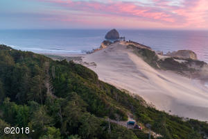 3500/3501 VL Ridge Rd, Pacific City, OR 97135 - Aerial to the West