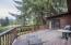 6887 NE Highland Rd, Otis, OR 97368 - Deck