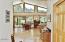 11182 E Steelhead Pl, Tidewater, OR 97390 - Wall of windows towards river views!
