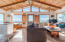5780 Guardenia Ave, Cloverdale, OR 97112 - beamed wood ceilings