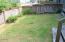 630 SW Fall St, F, Newport, OR 97365 - Lower deck & yard