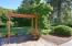 1754 NE Old River Road, Siletz, OR 97365 - Trellis over Stamped Concrete Patio