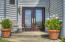 771 Radar Rd, Yachats, OR 97498 - Front Entry