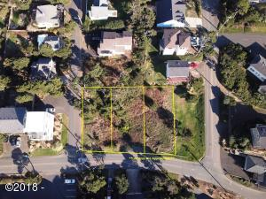 1100 BLK NW Harbor Ave Lot 4, Lincoln City, OR 97367 - Lot 4 Aerial