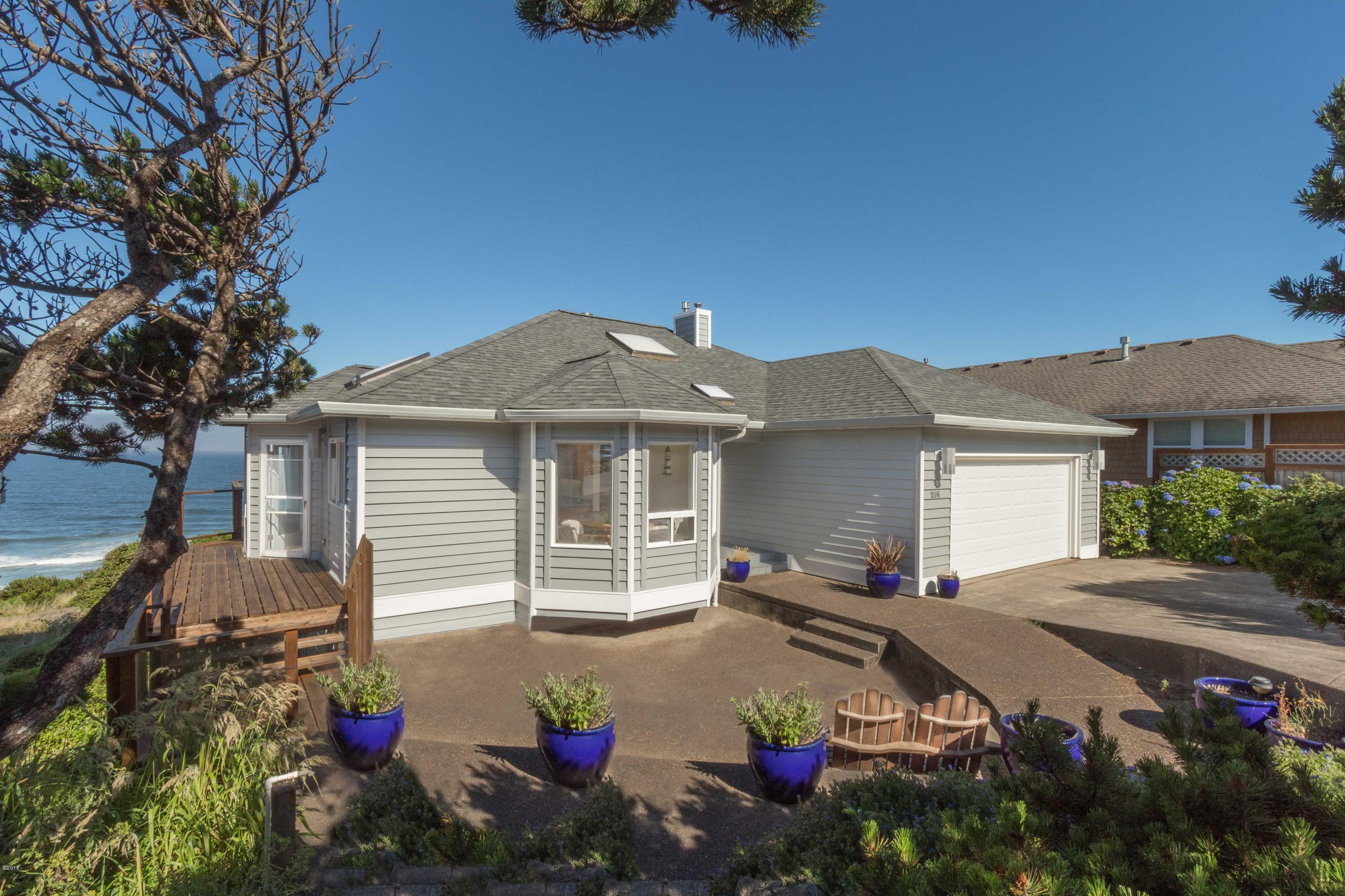 216 NW 73rd Ct, Newport, OR 97365 - Oceanfront Contemporary