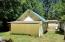 237 E Buck Creek Rd, Tidewater, OR 97390 - back of garage with lean to
