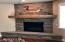 3576 NE Reef Dr, Lincoln City, OR 97367 - Rock Gas Fireplace