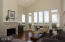 36350 Brooten Mountain Rd, Pacific City, OR 97135 - Vaulted Great Room with Panoramic Views