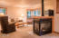 5865 Barefoot Lane, Pacific City, OR 97135 - 3 sided cozy gas fireplace