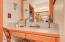 4051 Evergreen Ave, Depoe Bay, OR 97388 - Vanity in master bathroom