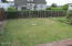 2407 3rd St, Tillamook, OR 97141 - fenced yard