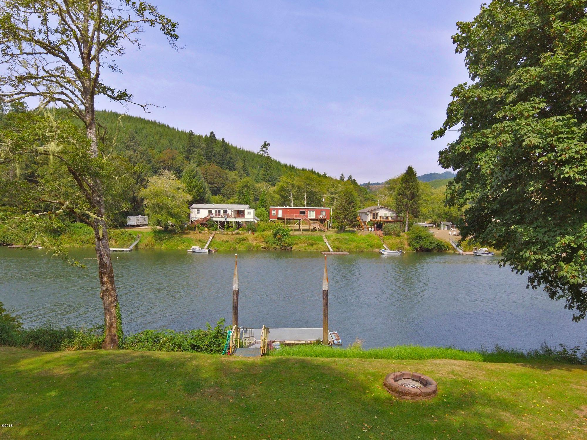 8040 S Siletz River Dr, Lincoln City, OR 97367 - What-a-view!