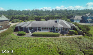 12300 NW Ocean Vista Ln, Seal Rock, OR 97376 - back of house