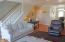 375 Kinnikinnick Way, Depoe Bay, OR 97341 - Living room stairs up