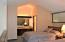 301 Otter Crest Dr, 358-9, 1/6th Share, Otter Rock, OR 97369 - Loft bedroom and vanity area