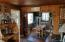 23 E 7th St, Yachats, OR 97498 - living room w/ocean and cape view