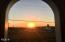23 E 7th St, Yachats, OR 97498 - sunset from doorway