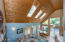 6000 Nestucca Ridge Road, Pacific City, OR 97135 - Wood ceiling and skylights