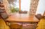 7265 Neptune, Gleneden Beach, OR 97388 - Dining room table