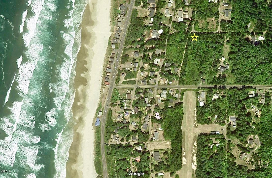 TL 1600 SW Stormwatch Ave, Waldport, OR 97394 - Aerial view Google