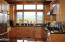 341 Salishan Dr, Gleneden Beach, OR 97388 - Kitchen with bay view