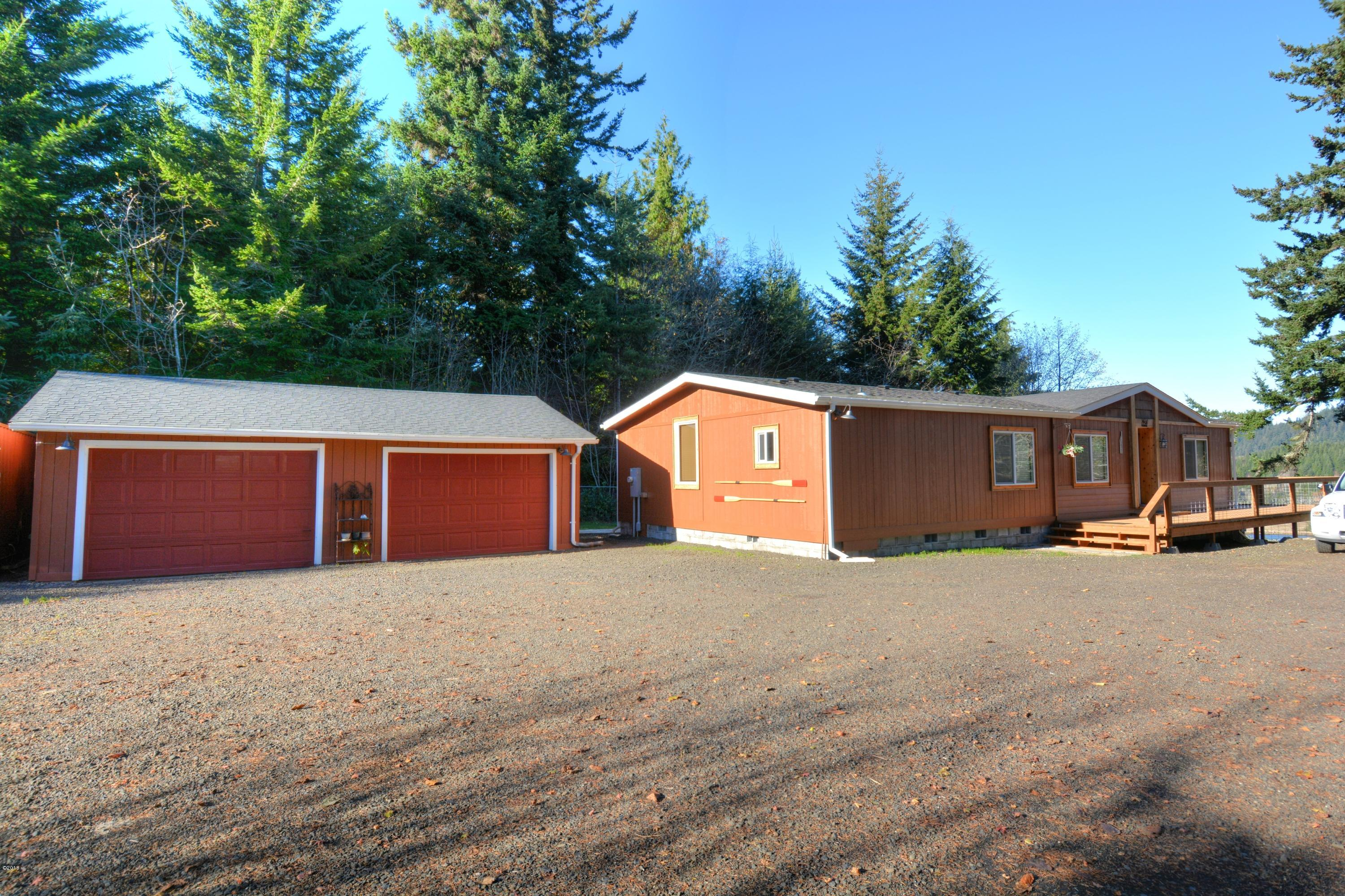 231 E Darkey Creek Rd, Waldport, OR 97394 - Front Of Home