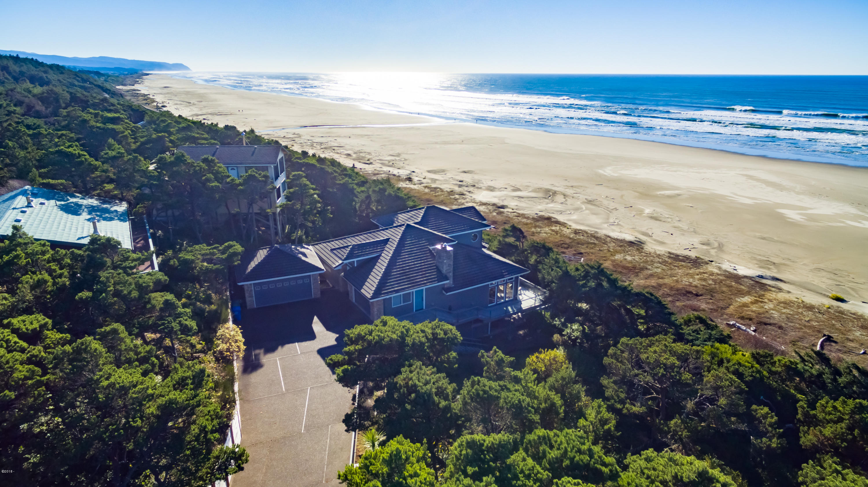 1345 NW Orcas Dr., Seal Rock, OR 97376 - Ocean Front Estate